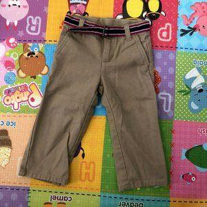 Janie & Jack Toddler Boys Khaki dress Pants ~ Size